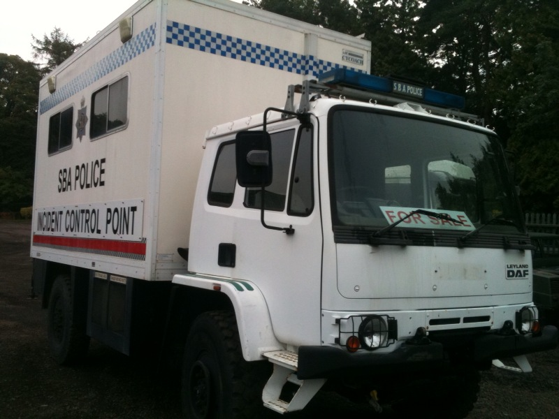 DAF 4x4 Mobile Office / Expedition conversion